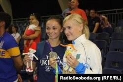Катерина Крива та Аніта Серьогіна