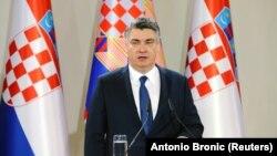 Presidenti i Kroacisë, Zoran Millanoviq.