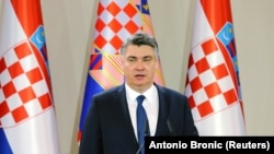Hrvatski predsjednik Zoran Milanović