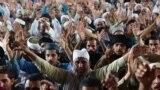 په پاکستان کې د تحريک لبيک ډلې مظاهرې. ۲۰۱۸ز کال د نومبر پر ۱۷مه