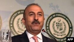 Թուրքիայի արտաքին գործերի նախարար Մևլյութ Չավուշօղլուն, արխիվ: