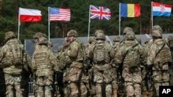 Учения сил НАТО (архивное фото)