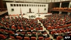 Թուրքիայի խորհրդարանի նիստերի դահլիճում