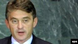 Zhelko Komshiq - kryesues i presidencës së Bosnjë Hercegovinës