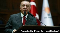 Türkiýäniň prezidenti Rejep Taýýyp Erdogan