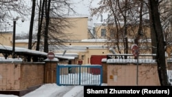 A general view shows the pretrial detention center Lefortovo, where former U.S. Marine Paul Whelan is reportedly being held in custody in Moscow, January 3, 2019