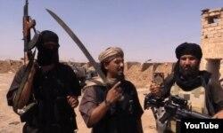 گروهی از اعضای «حکومت اسلامی» در تصویر در زمانی نامعین