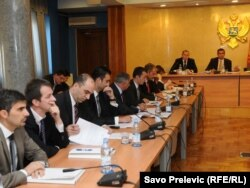 Saslušanje pred Odborom za finansije i budžet, oktobar 2011.