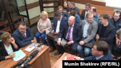 """Одно из заседаний суда по делу """"Нового величия"""", май 2019"""