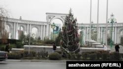 Ашкабат, главен град на Туркменистан.