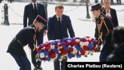 Францускиот претседател Емануел Макрон на