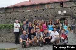 Маріупольці на екскурсії в Ужгородському замку