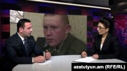 Ավետիսյանների իրավահաջորդների ներկայացուցիչ Երեմ Սարգսյանը «Ազատություն TV»-ի տաղավարում, 3-ը մարտի, 2015թ.