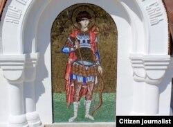 Butxonaning yo'qolib ketgan mozaika freskasi ham qaytadan tiklandi.