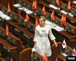Юлія Тимошенко у Верховній Раді у 2006 році