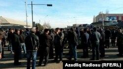 Протест в Азербайджані, 13 січня 2016 року