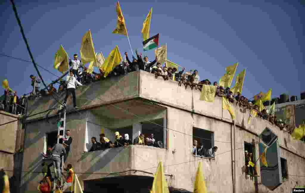 Fələstinlilər Fəth hərəkatının yaradılmasının 48-ci ilini qeyd edirlər