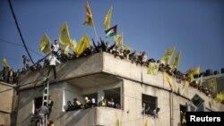 Прослава на Фатах во Газа