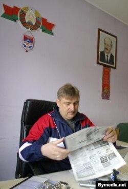 Мікалай Аўтуховіч у 2005 годзе меў у кабінэце партрэт Лукашэнкі