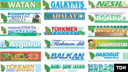 """Okyjylar türkmen gazetlerinde """"hiç bir özboluşlylygyň ýokdugyny, olaryň bir-birini gaýtalaýandygyny"""" aýdýarlar."""