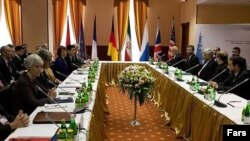Iranian negotiators sit down with other world powers for the latest round of nuclear talks in Moscow.