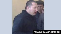 Умед Тешавев в суде
