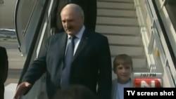 Лукашенко прибув у Каракас