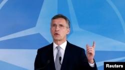 NATO-nyň baş sekretary Ýens Stoltenberg.