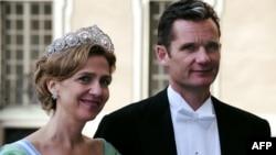 Принцесса Кристина с супругом, снимок 2010 года