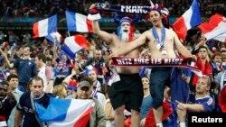 Përkrahës te kombëtares franceze në futboll, 10 qershor 2016