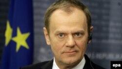 Дональд Туск, председатель Европейского совета.