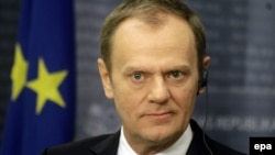 President of the European Council, Donald Tusk.