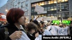 """Protest protiv diktature"" 5. aprila u Beogradu"
