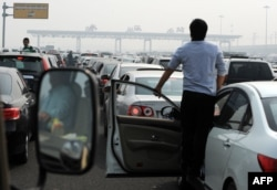 Az ellentmondásos törésteszt megakasztotta a Volkswagen útját Kínában. A kép illusztráció