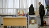 Belarus - The main voting day on parliamentary elections in Belarus. Minsk, 17Nov2019