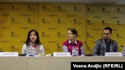 Sa konferencije za novinare o Inicijativi za mobilnost, 8. april 2011