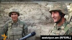 Nagorno Karabakh - Armenian soldiers on the Karabakh Line of Contact speak to RFE/RL, 13May2016