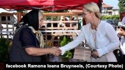 Ramona Ioana Bruyneels, candidatela alegerile prezidențiale care nu a aflat că Rusia nu e în NATO