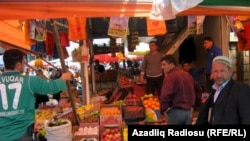 Рынок в азербайджанской провинции, 2011