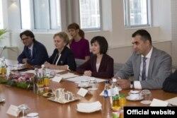 Delegația moldoveană la discuțiile de la Bruxelles, 24 iulie 2019