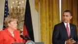 أوباما وميركل يتحدثان في البيت الأبيض