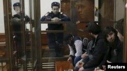 Обвиняемые в убийстве Бориса Немцова