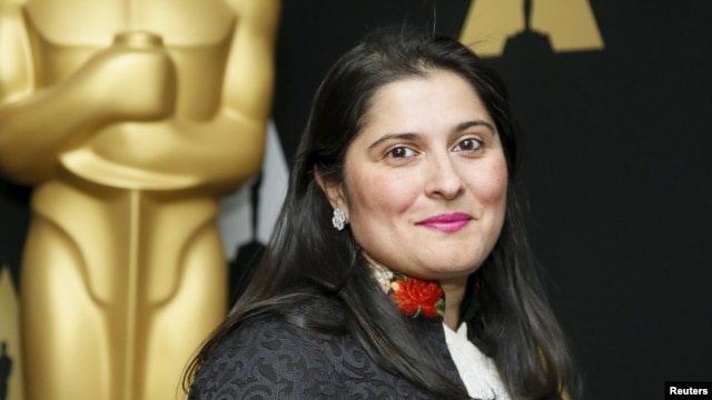 Director Sharmeen Obaid-Chinoy won the Oscar for best short documentary for A Girl In The River: The Price Of Forgiveness.