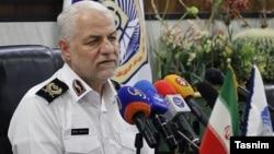 کمال هادیانفر، رئیس پلیس راهنمایی و رانندگی نیروی انتظامی