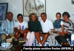 Юнис и Сарджент Шрайвер в Москве, в гостях у Андрея Павлова.