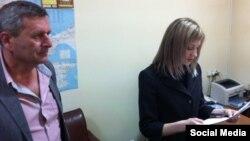 Кырым прокуроры Поклонская Рифат Чубаровка кисәтүне укый