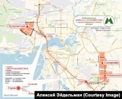 Оптимизированная версия развития казанского метро