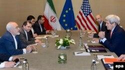 Иран келіссөзіне қатысушы елдердің өкілдері. Женева, 30 мамыр 2015 жыл.