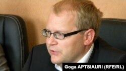 Estonian Foreign Minister Urmas Paet (file photo)