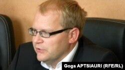 Естонскиот министер за надворешни работи, Урмас Пает